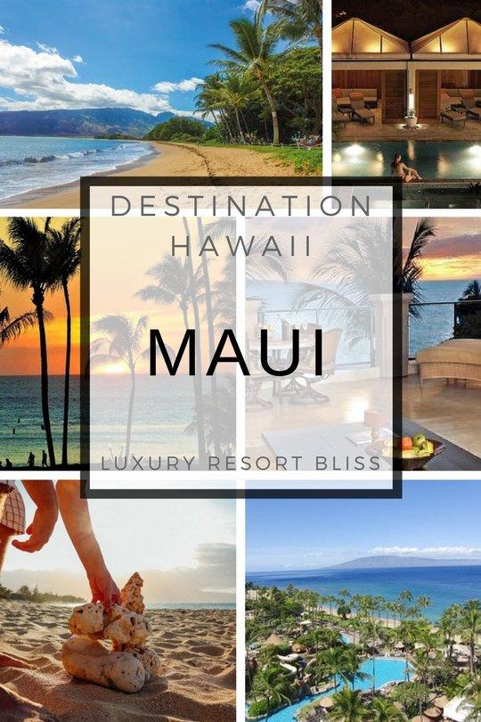 Best Maui Hawaii Resorts & Hotels