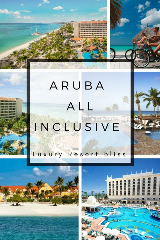 Aruba all inclusive resorts for Luxury all inclusive resorts for families