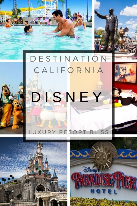 Disneyland Resorts In Anaheim, California