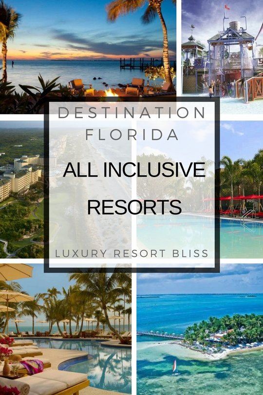 Florida all inclusive resorts for Luxury all inclusive resorts for families