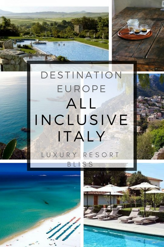 Italy All Inclusive Resorts & Hotel Packages