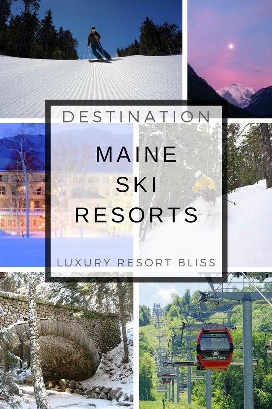 Best Maine Ski Resorts