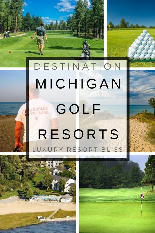 Michigan, United States Golf Resorts