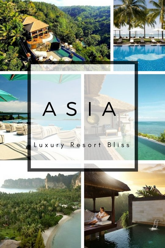 Best Asian Luxury Resorts
