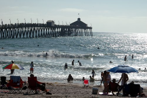 The pier of Imperial Beach