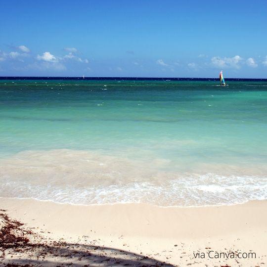 Beach in Jamaica