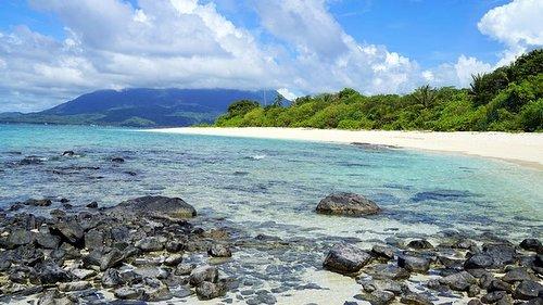 Beach in Natuna Indonesia