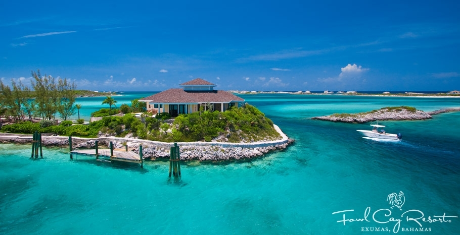 The Birdcage, Fowl Cay Resort, Exumas