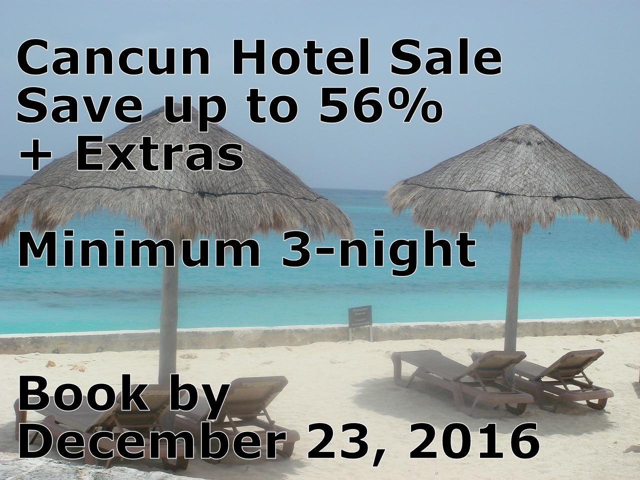 Cancun Hotel Sale