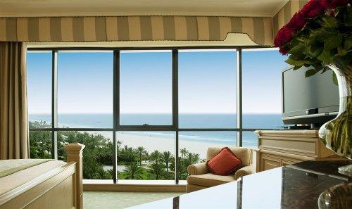 Guestroom view at Le Royal Meridien Beach Resort, Dubai