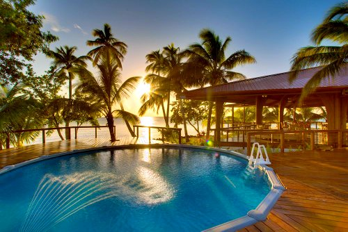 Hatchet Caye Resort: Private Island, Belize