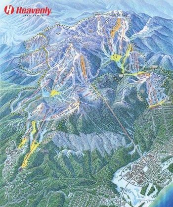 Trail Maps at Heavenly Ski Resort