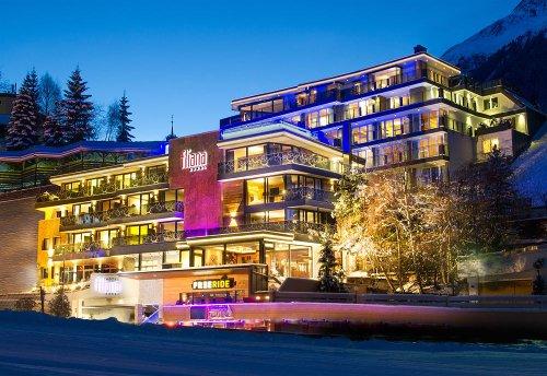 Hotel Fliana, Ischgl, Austria