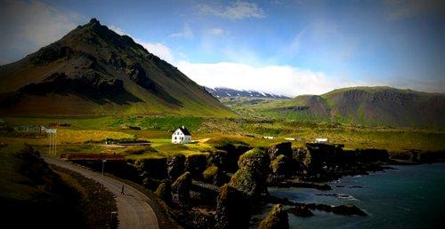Iceland Gullfoss Waterfall Landscape