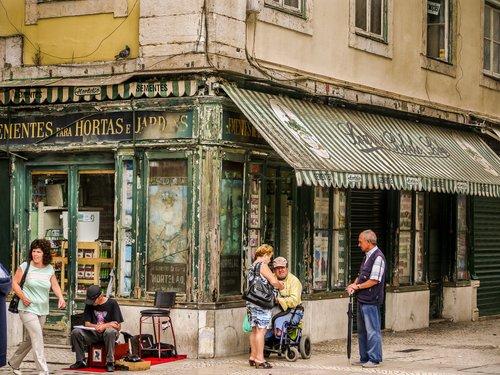 Portugal Street Corner