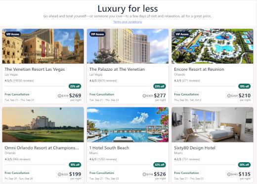 Discount Luxury Travel Sites