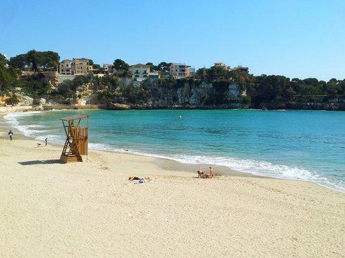 Beach at Porto Cristo, Majorca