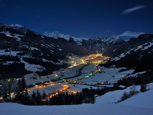 Winter in Mayrhofen, Sporthotel Strass
