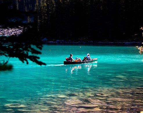 Summer in Lake Louise
