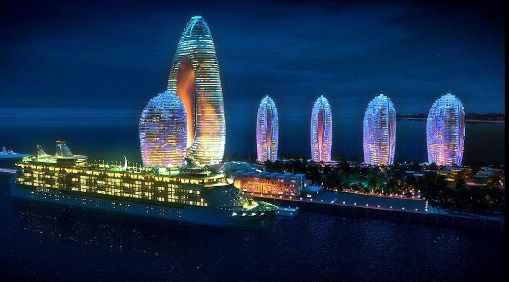 Shiny Chinese Buildings!