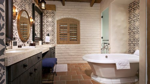 Gorgeous Bathrooms at Rancho Valencia, San Diego Luxury Resort