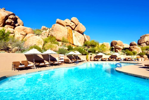 Pool at Boulders Resort & Spa
