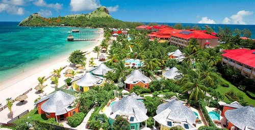 St Lucia Beach Resorts