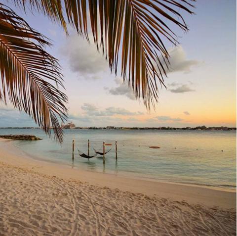 Hammocks at Sandals Royal Bahamian