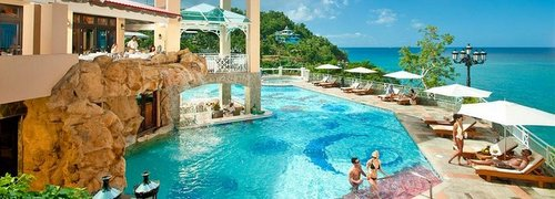 Sandals - See their three resorts in St. Lucia