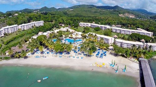 St James Morgan Bay St Lucia All Inclusive Beach Resort