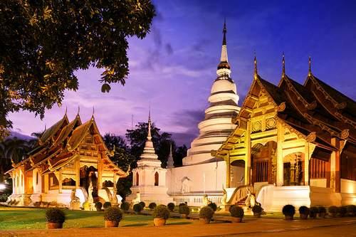 Phra-Singh Temple Chiang Mai