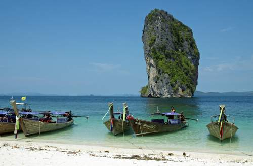 Poda island beach by kallerna