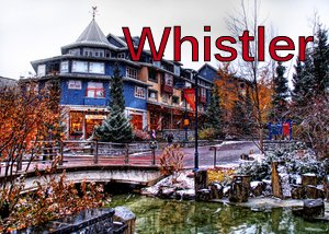 Snowstorm in Whistler - Stuck in Customs