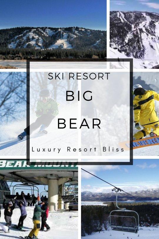 Big Bear Ski Resort - Best California USA Ski Resorts