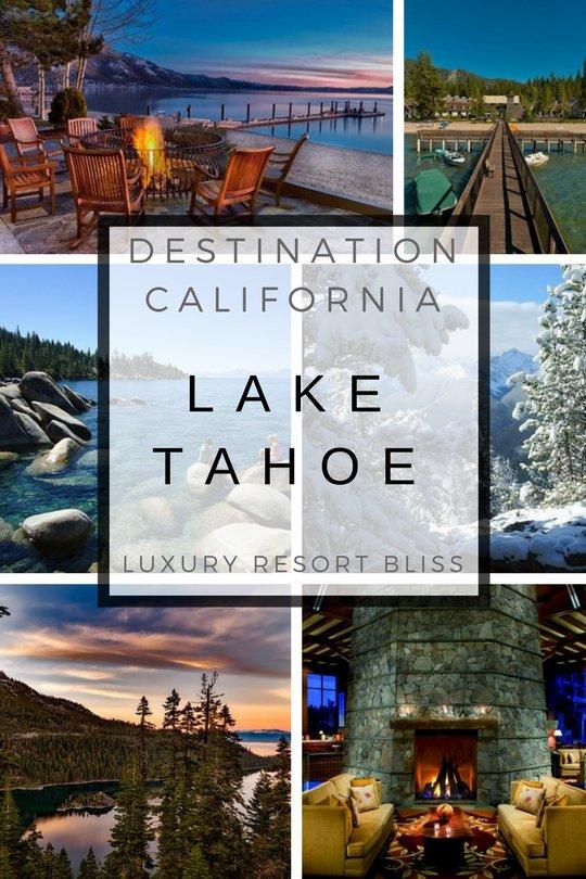 Lake Tahoe, California Resort and Lodging Getaways