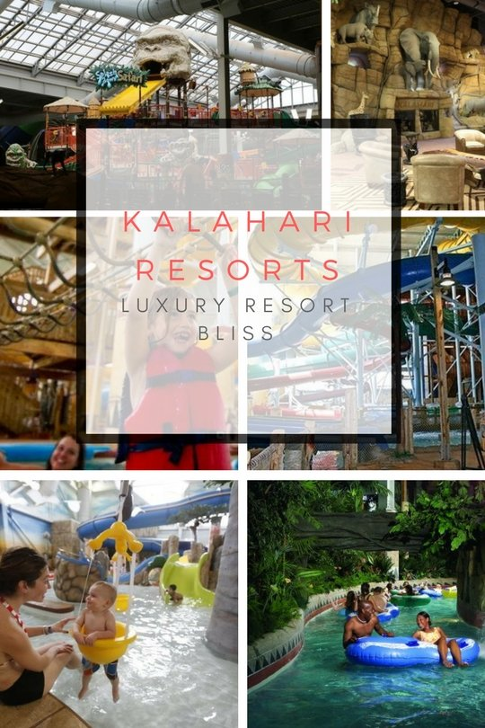 Kalahari Family Vacation Waterpark Resorts