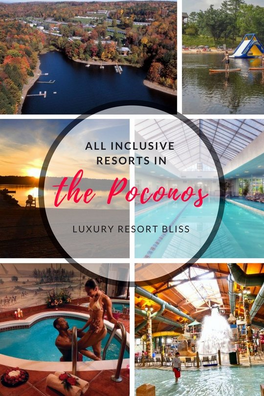 Poconos Mountains All Inclusive Resorts