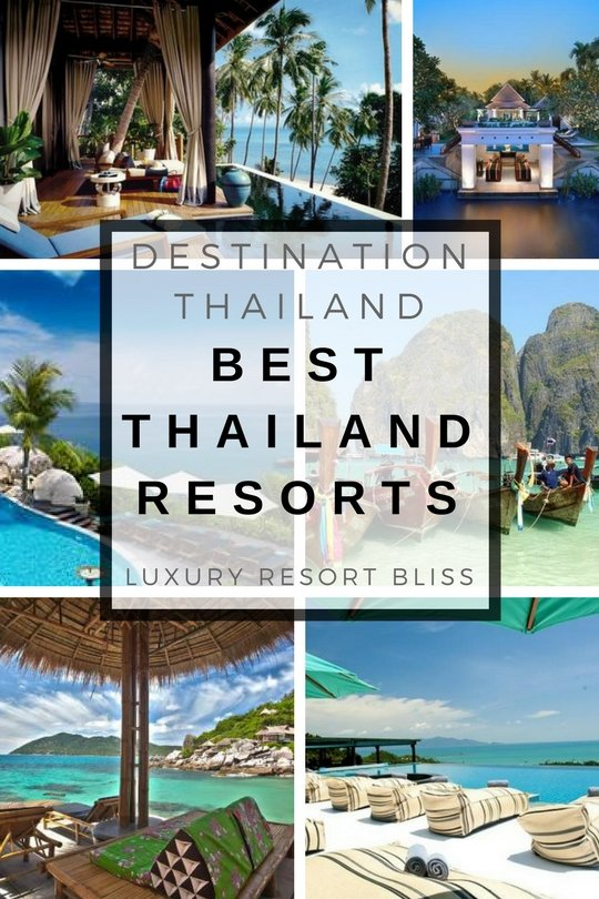 The Best Thailand resorts