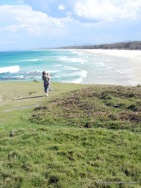Beach near Pottsville on the Tweed Coast