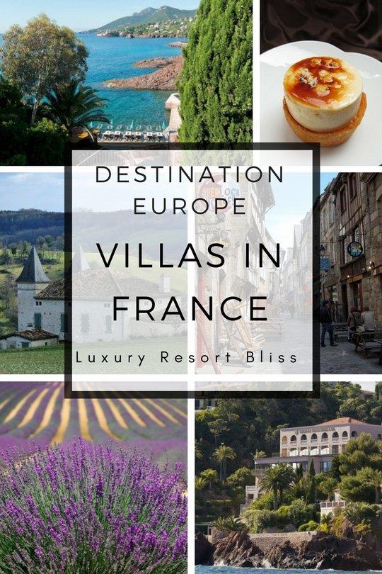 Best Villas in France