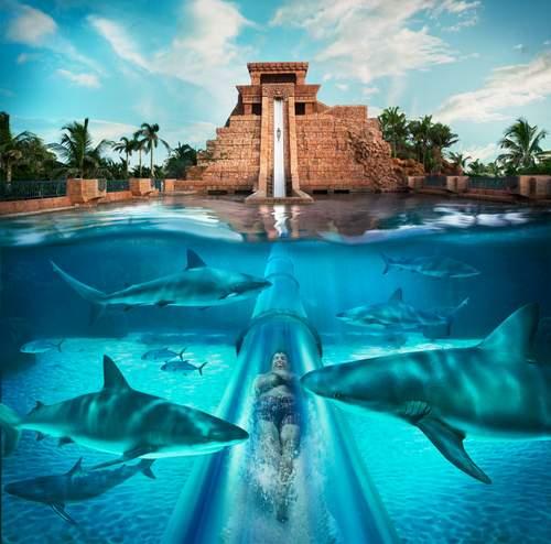 Atlantis Mayan Temple