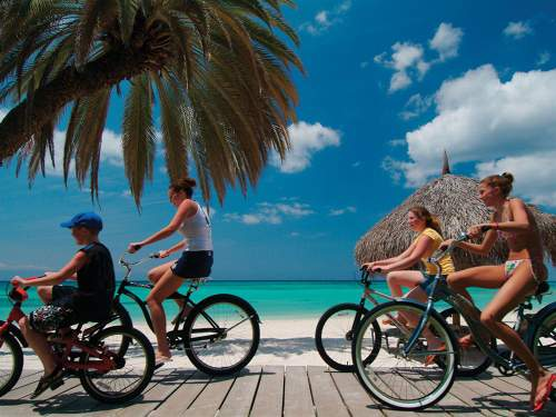 Bikes from the Divi Aruba all inclusive family resor
