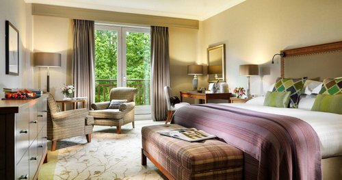 Guestrooms at Druids Glen Resort
