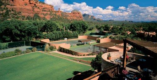 Tennis at Enchantment Resort