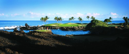 Golf at The Fairmont Orchid, Hawaii