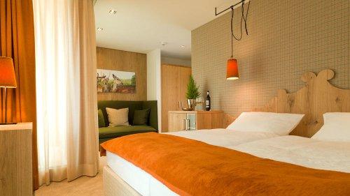 Guestrooms at Hotel Tirolerhof