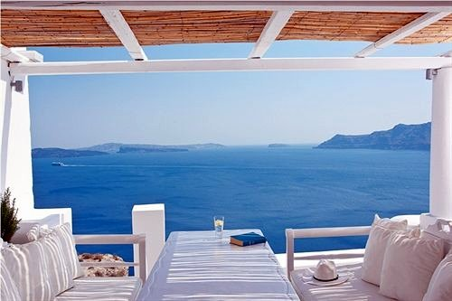 Villa Katikies Resort, Santorini, Greece
