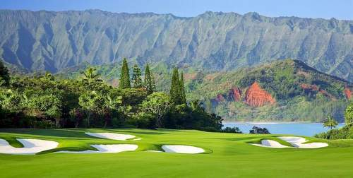 The St. Regis Princeville Golf Resort