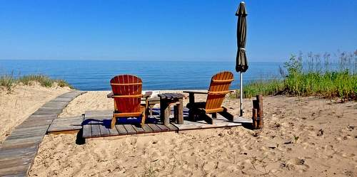 Michigan Beachfront Resort