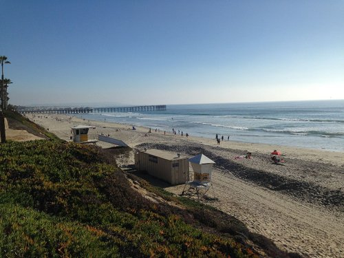 Pacific Beach north of Crystal Pier